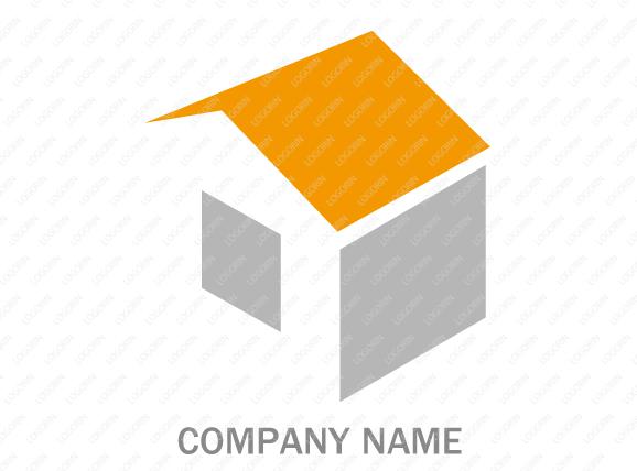 不動産・建設会社に使えるロゴ