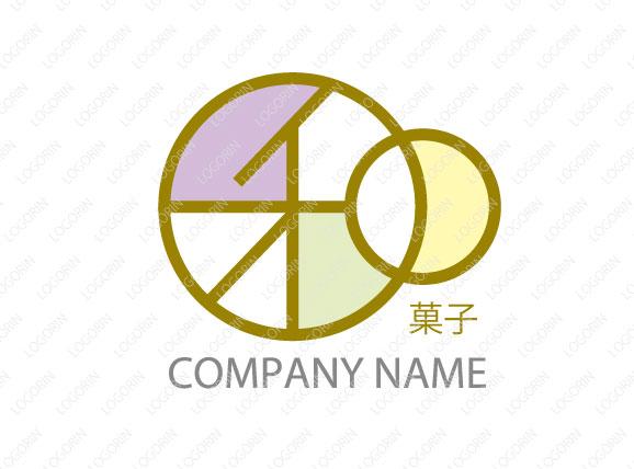 和菓子屋さんのロゴ