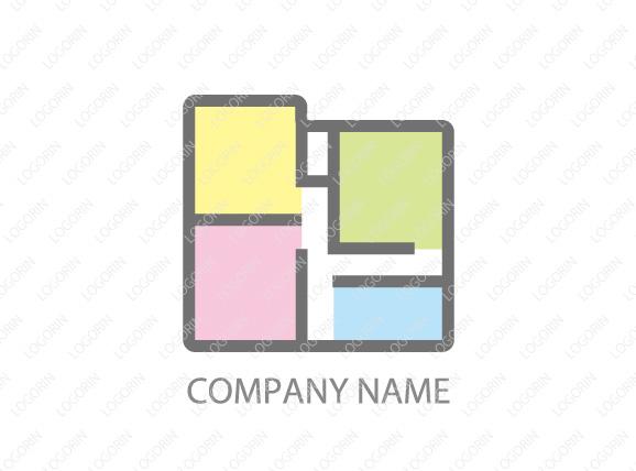 不動産屋さんのロゴ
