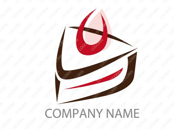 ケーキ屋さんに使えるロゴ